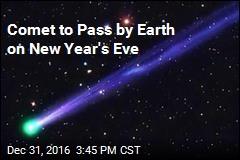 Comet to Pass by Earth on New Year's Eve
