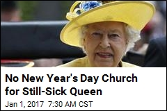 Queen Skips Out on 2nd Church Service Due to 'Heavy Cold'