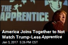 Celebrity Apprentice Tanks Without Trump