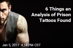 6 Things an Analysis of Prison Tattoos Found
