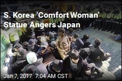 S. Korea 'Comfort Woman' Statue Angers Japan