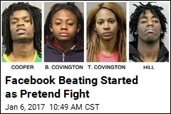 Facebook Beating Started as Pretend Fight