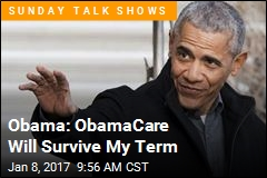 Obama: ObamaCare Will Survive My Term