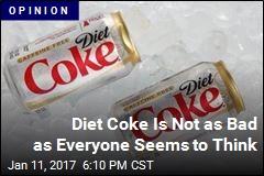 Stop Vilifying Diet Coke