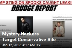 Mystery Hackers Target Drudge Report