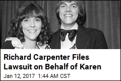 Surviving Carpenter Sibling Sues for Unpaid Royalties