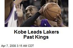 Kobe Leads Lakers Past Kings