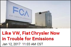 EPA: Fiat Chrysler Also Cheated on Emissions