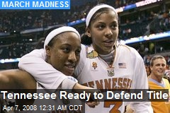 Tennessee Ready to Defend Title