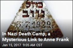 In Nazi Death Camp, a Mysterious Link to Anne Frank