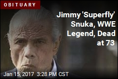 WWE Legend Jimmy 'Superfly' Snuka Dead at 73