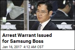 Arrest Warrant Issued for Samsung Boss