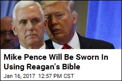 Mike Pence Will Be Sworn In Using Reagan's Bible
