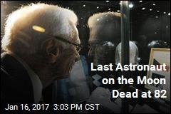 Last Astronaut on the Moon Dead at 82