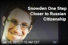 Snowden One Step Closer to Russian Citizenship