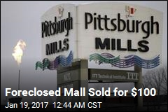 Foreclosed Mall Sold for $100
