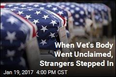 When Vet's Body Went Unclaimed, Strangers Stepped In
