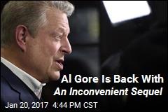 Al Gore Is Back With An I nconvenient Sequel