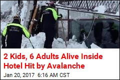 6 Found Alive Inside Hotel Hit by Avalanche
