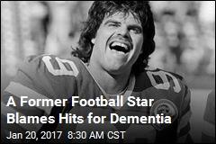 Former NFL Star: Football Left Me With Alzheimer's