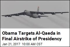 Obama's Last Airstrike Kills 100 in Syrian Training Camp