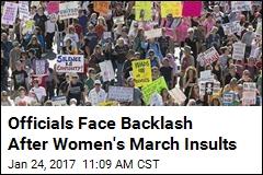 'Fat Women Walking': Pols' March Zingers Land Poorly