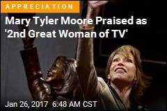 Mary Tyler Moore Praised as '2nd Great Woman of TV'