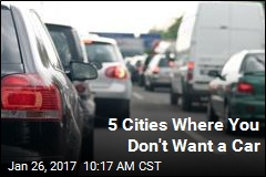 5 Worst Cities for Car Owners