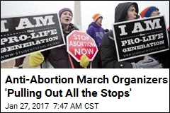 Anti-Abortion Protesters Hope Their DC March Draws Turnout