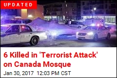 6 Killed in Mass Shooting at Canada Mosque