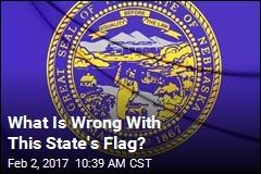 Nebraska Flag Flies Upside Down, Nobody Notices