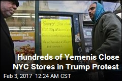 Hundreds of Yemenis Close NYC Stores in Trump Protest