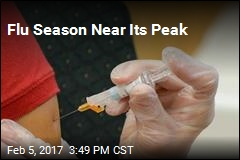 Flu on the Rise in Most States Now