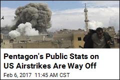 Pentagon's Public Stats on US Airstrikes Are Way Off