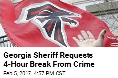 Georgia Sheriff Requests 4-Hour Break From Crime