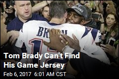 Super Bowl Mystery: Where's Brady's Jersey?