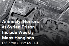 Amnesty: Syria Has Hanged Up to 13K at 'Human Slaughterhouse'