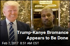 Trump-Kanye Bromance Appears to Be Done
