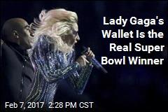 Gaga Sees Massive Post-Super Bowl Spike