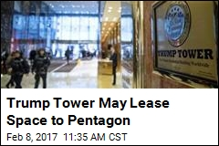 DOD May Lease 'Limited' Space in Trump Tower