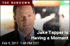 Jake Tapper Is Having a Moment