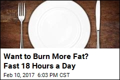Want to Burn More Fat? Restrict Eating to a 6-Hour Period