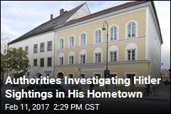 Hitler Impersonator Is Hanging Around Dictator's Hometown