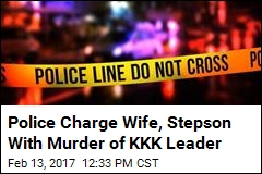 Wife, Stepson of KKK Leader Charged With His Murder