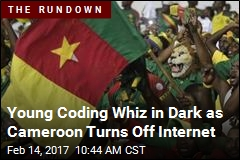Young Coding Whiz in Dark as Cameroon Turns Off Internet