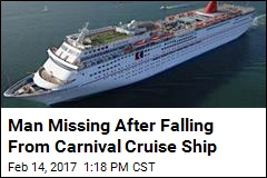Man Missing After Falling From Carnival Cruise Ship