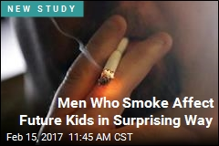 If Dad Smokes, He May Pass an Unwanted Trait to Kids