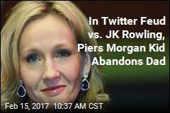 In Piers Morgan Twitter Fight, JK Rowling Will Not Be Tamed