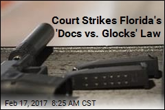 Court Strikes Florida's 'Docs vs. Glocks' Law
