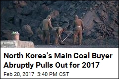 North Korea's Main Coal Buyer Abruptly Pulls Out for 2017